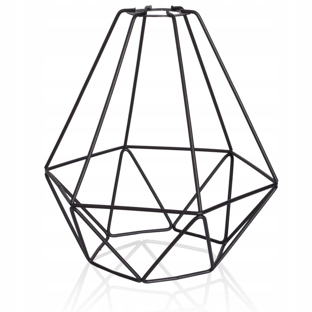 Klosz drut diament E27 LOFT niepełnowartościowy