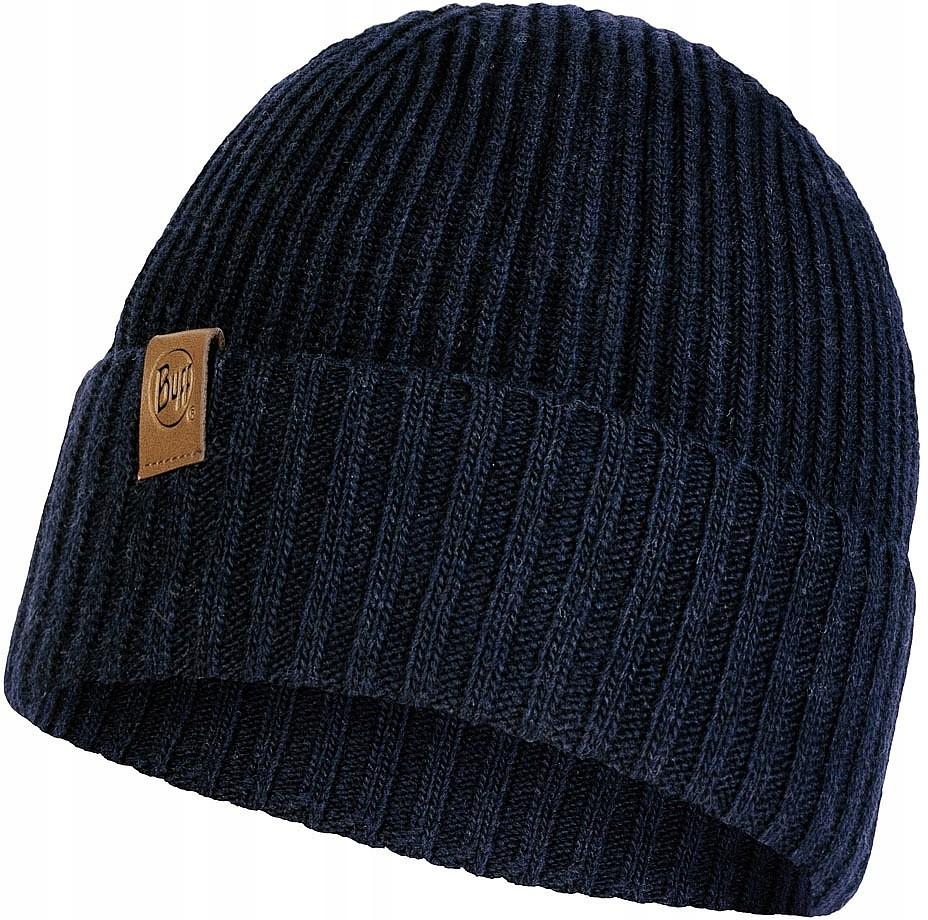 czapka Buff Knitted New Biorn - 121751/Night Blue