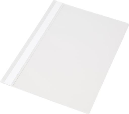 Skoroszyt biały A4 twardy 1 sztuka