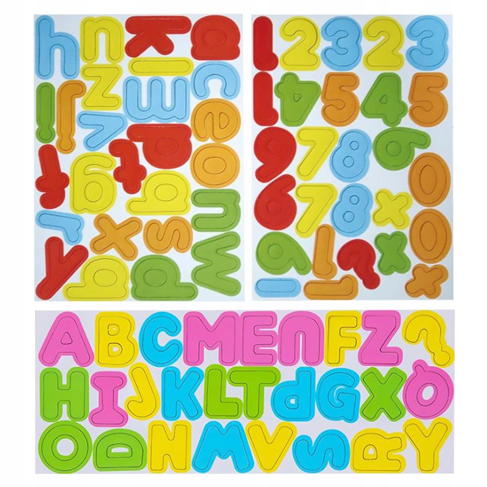 3 zestawy Dla dzieci Wczesne litery edukacyjne Num