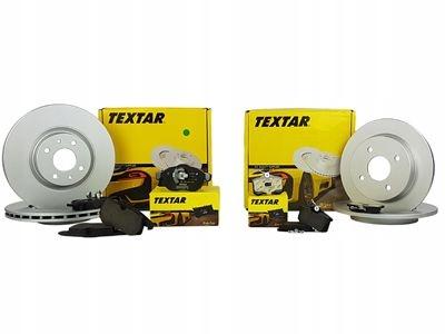TEXTAR TARCZE+KLOCKI P+T BMW X5 E70 X6 E71 365MM