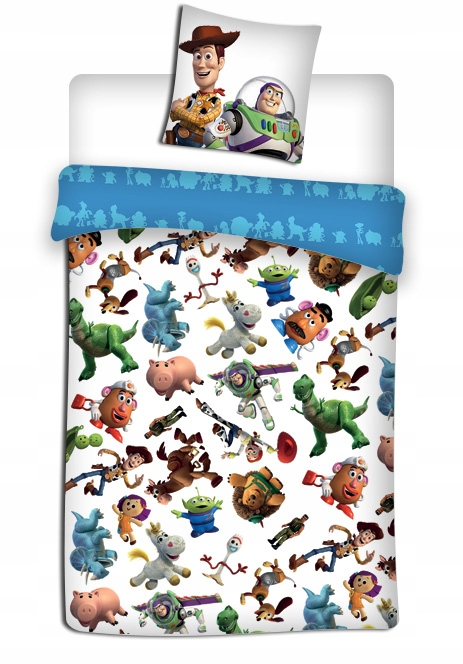 Pościel 140x200 Toy Story 4 Buzz Astral Chudy 8331815769 Oficjalne Archiwum Allegro