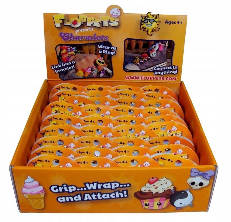 Rzepki słodziaki pomarańczowe - Floppets