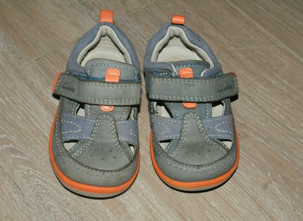 CLARKS_ sandały pantofle chłopięce _ 19-20/12,5 cm