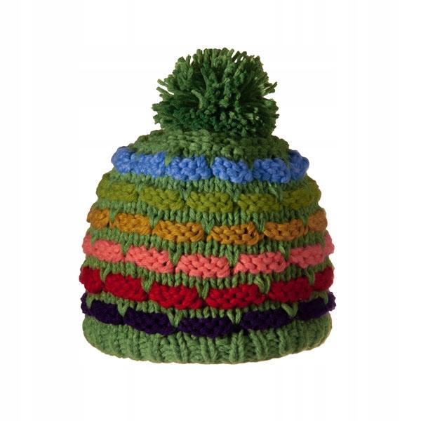 Ręcznie wykonana czapka zimowa VIKING Juka