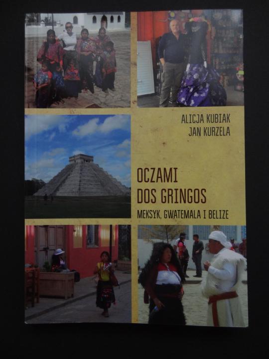 Książka z dedykacją od Dos Gringos