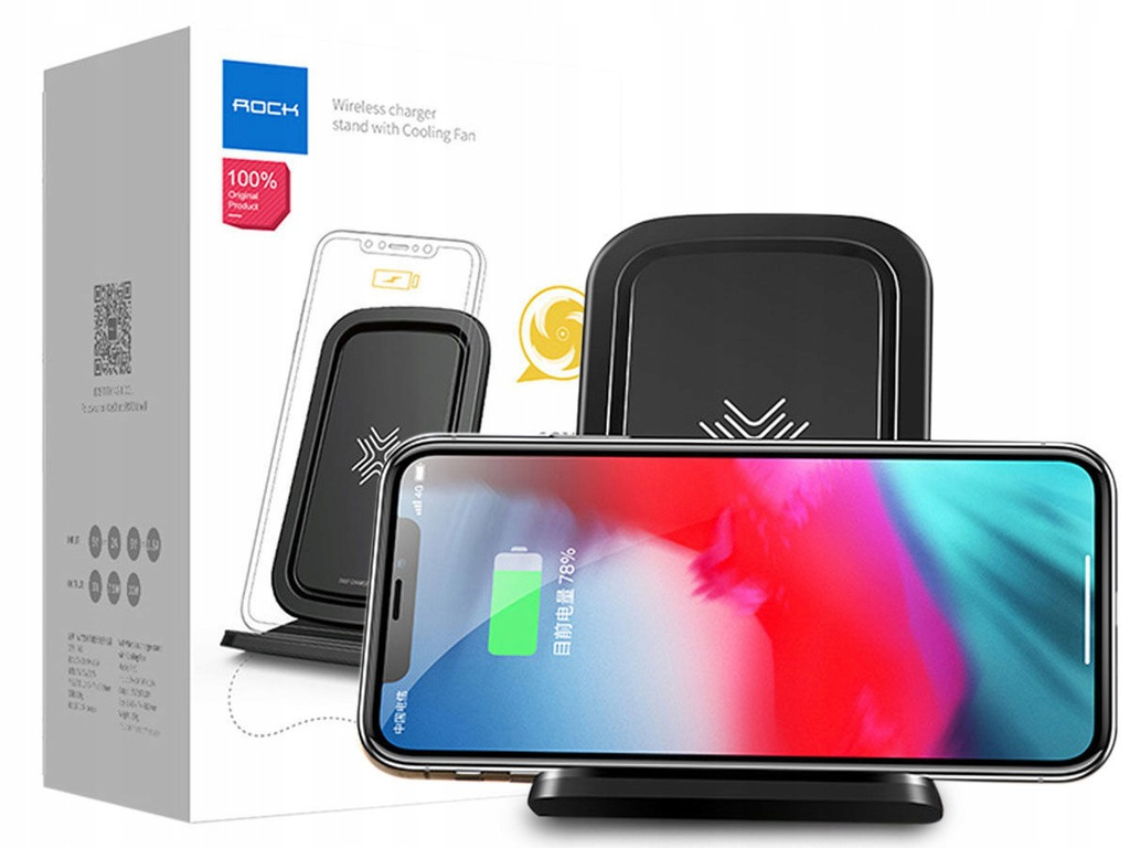 BASEUS iX ŁADOWARKA INDUKCYJNA QI SAMSUNG S8 S9 +