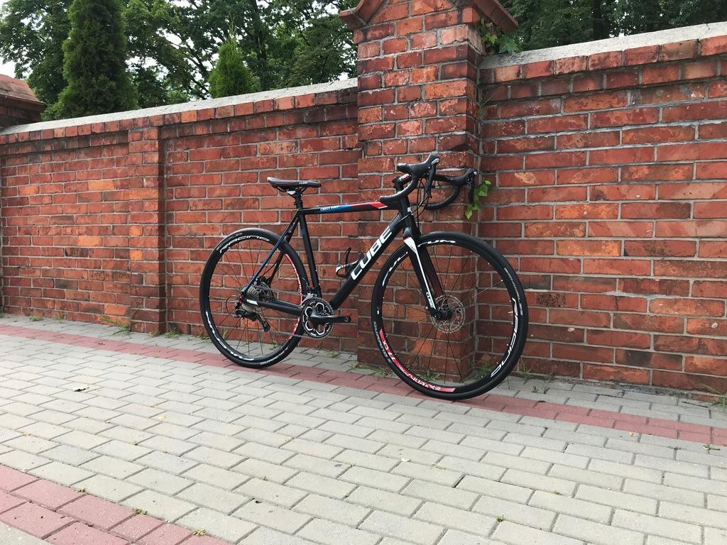 Przełaj Cyclocoss CUBE CROSS RACE DISC 56cm 105 gt