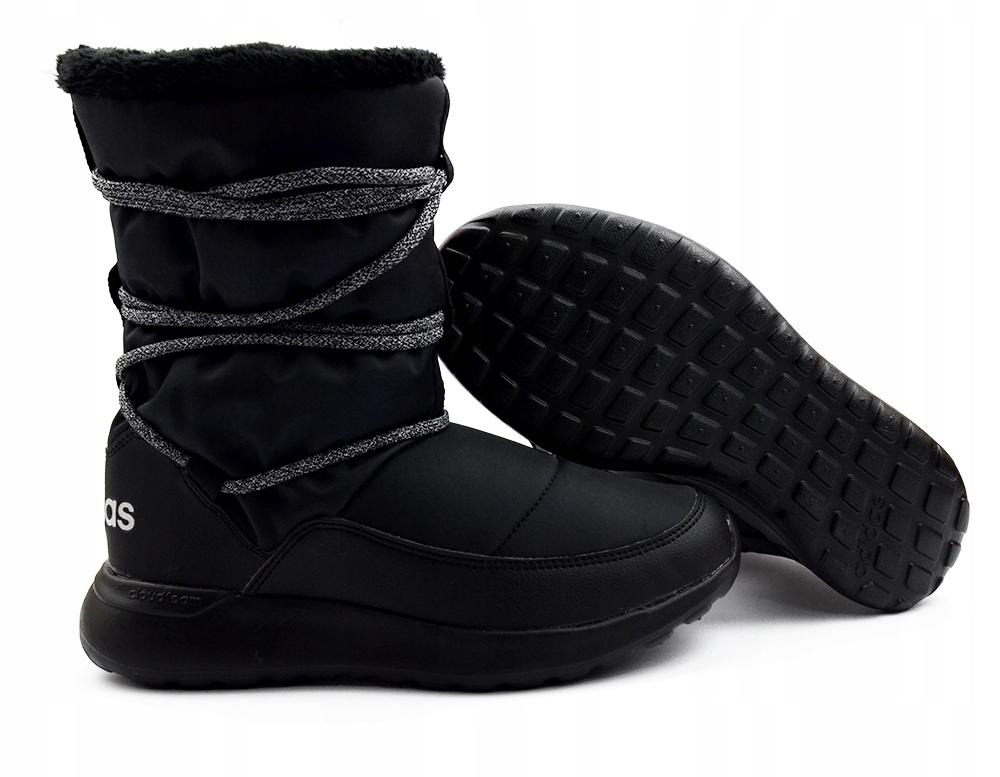Zimowe Buty Damskie Adidas Ocieplane AQ1617 r.38,5