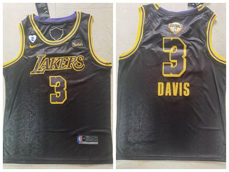 Koszulka Nike 2020 Finals Lakers 3 # Snake Print