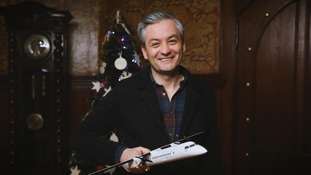 Lot samolotem z Robertem Biedroniem - WOŚP