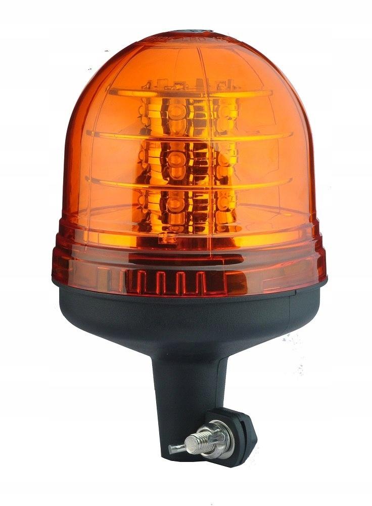 Lampa ostrzegawcza 16 ledx3w r65 trzpień