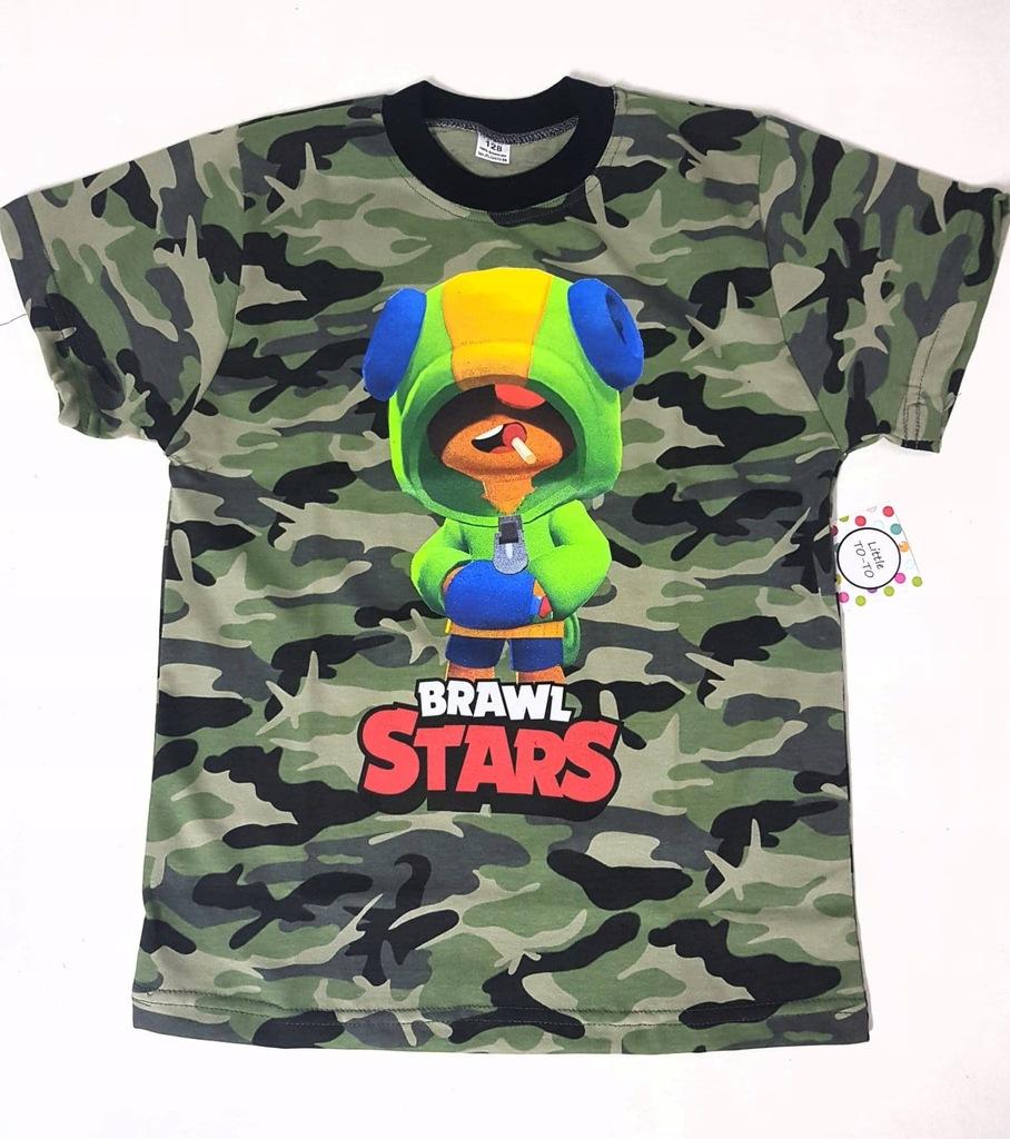 koszulka moro bluza brawl stars leon roz 158