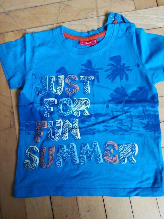 koszulka krótki rękaw 86 Tissaia lato palmy