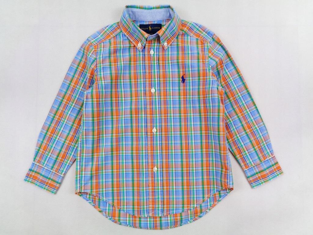 Ralph Lauren koszula w krateczkę Nowa 98/104 cm