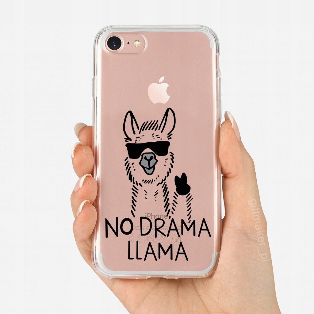 Etui Iphone 5 5s Se No Drama Llama Lama 7750536371 Oficjalne Archiwum Allegro