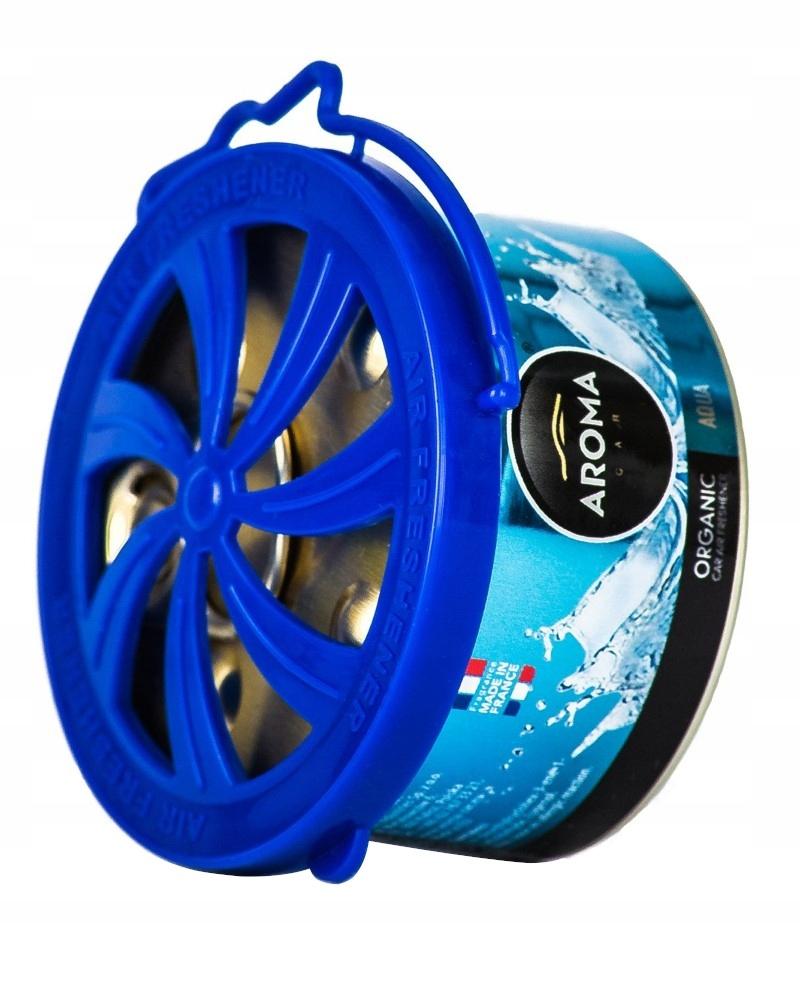 AROMA CAR Organic AQUA OCEAN zapach samochodowy
