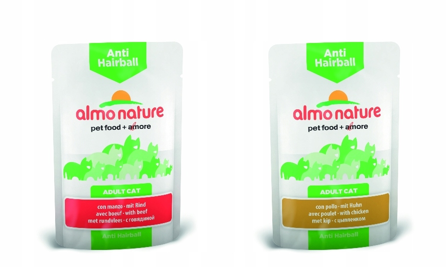 ALMO NATURE FUNCTIONAL Anti-Hairball wołowina 70g