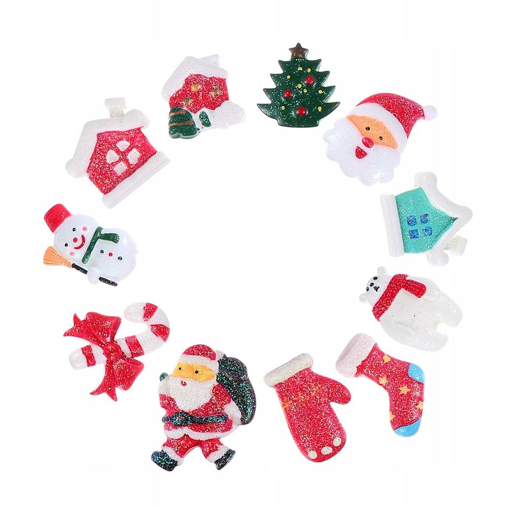 20 sztuk Boże Narodzenie Święty Mikołaj Bałwan DIY