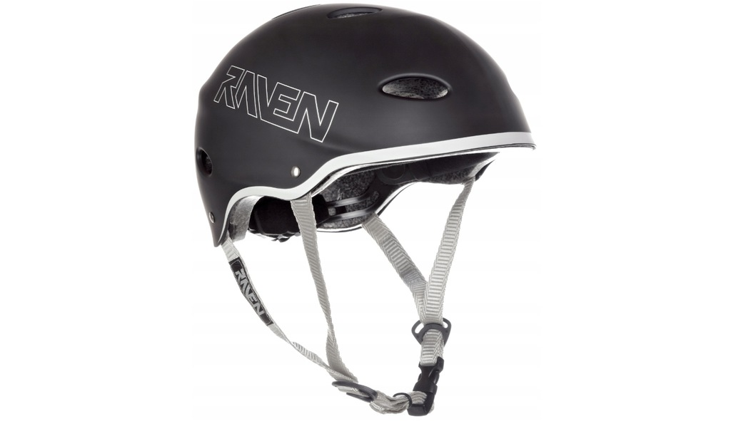 Kask Skateboardowy RAVEN F511 Black L (58-60cm)