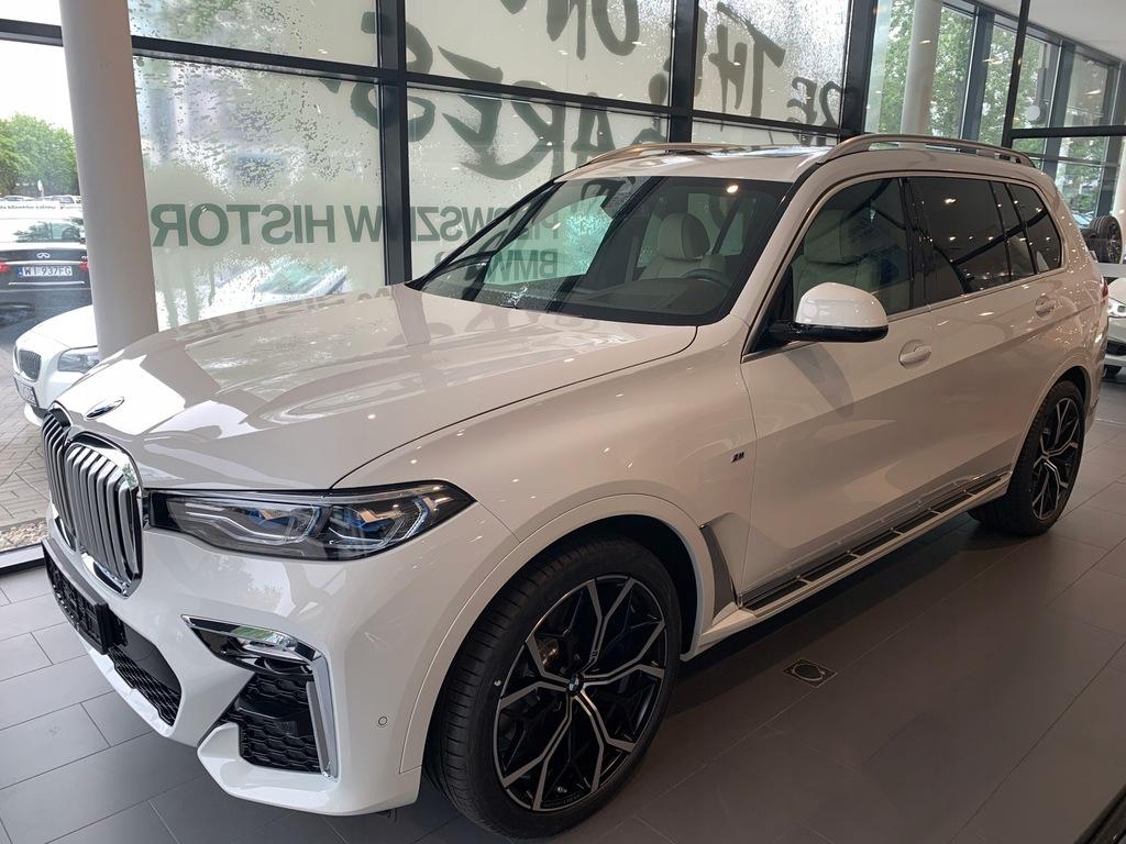 BMW X7 POLSKA 2019r. Kupiony w Bawaria Motors W-WA