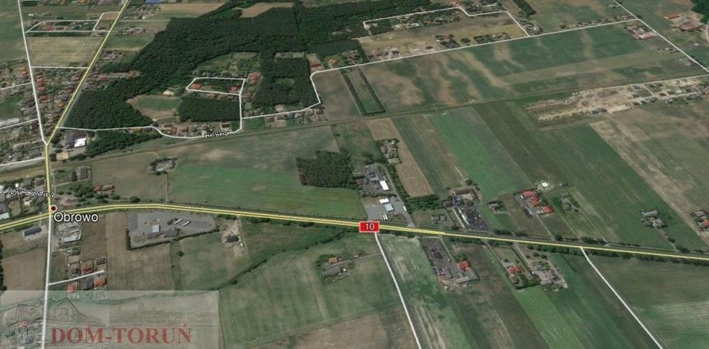 Działka, Kawęczyn, Obrowo (gm.), 1519 m²
