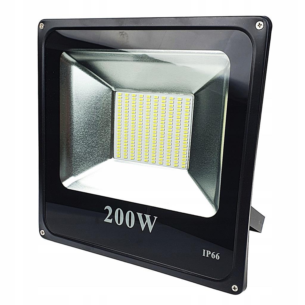 HALOGEN LED 200W NAŚWIETLACZ REFLEKTOR SMD IP66