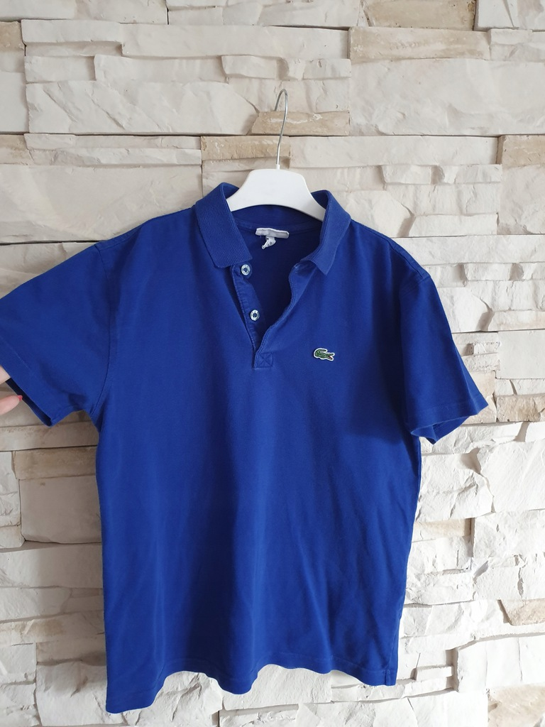 Lacoste 16 176 cm koszulka bawełniana orygnał