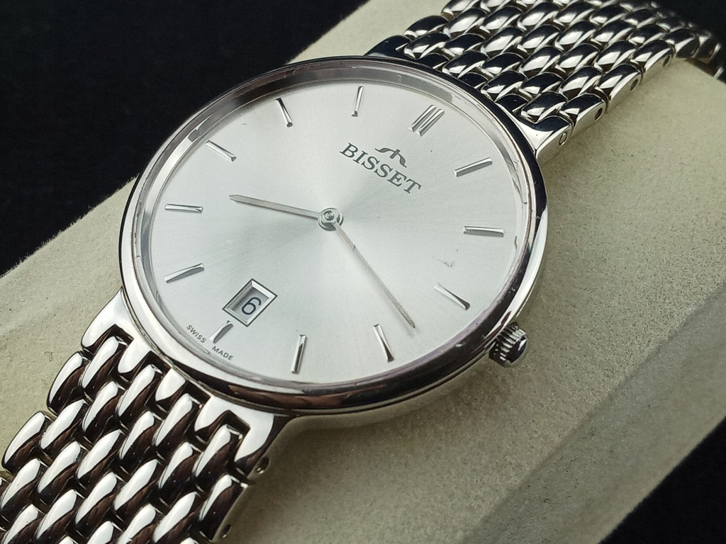 Zegarek szwajcarski Bisset