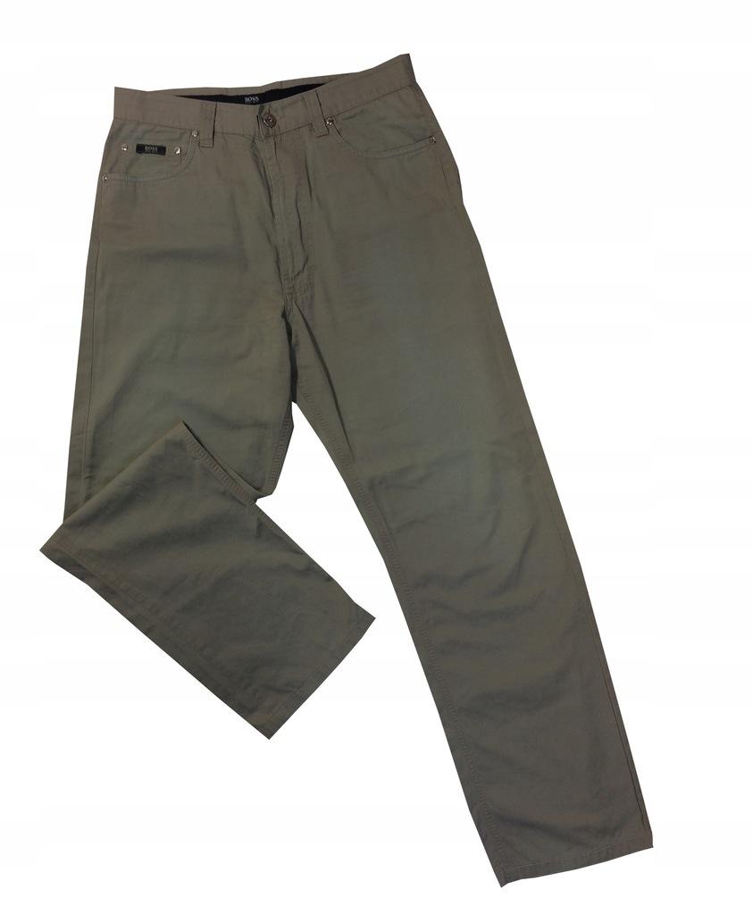 Spodnie męskie cienkie na lato HUGO BOSS W 33