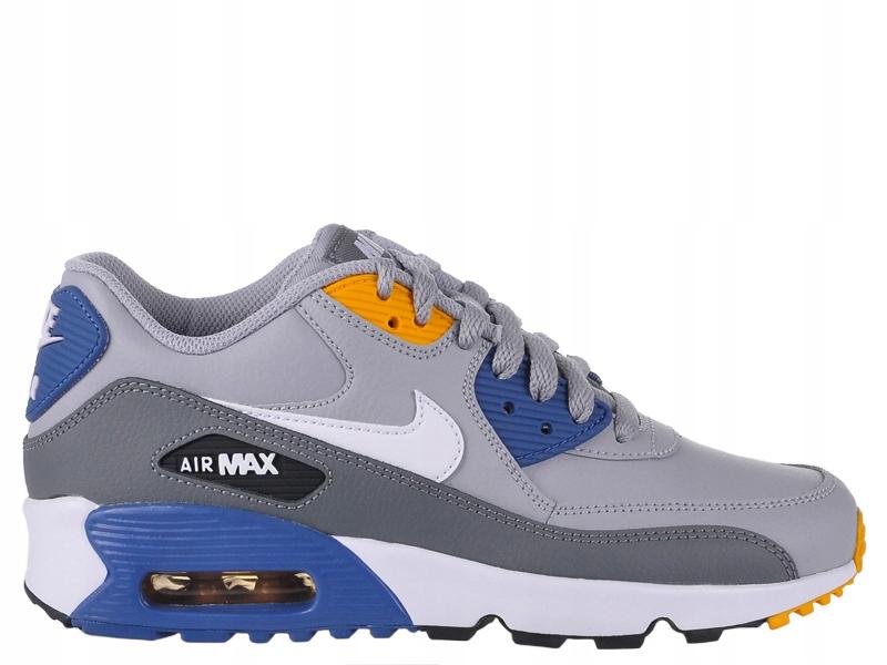 Buty NIKE AIR MAX 90 LTR Sneaker Skóra r.38,5