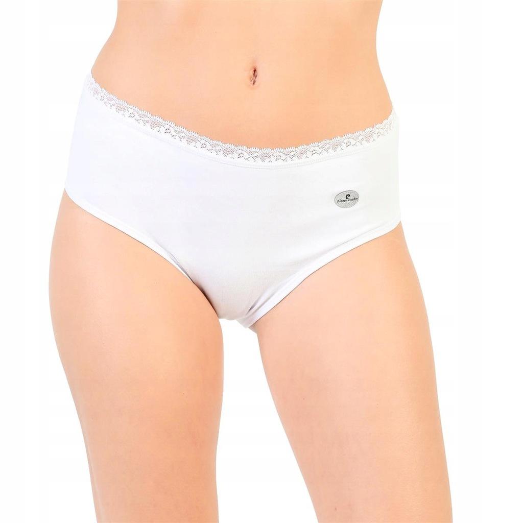 Pierre Cardin figi damskie biały XL