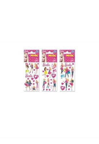 Naklejki Sticker BOO z postaciami Barbie.