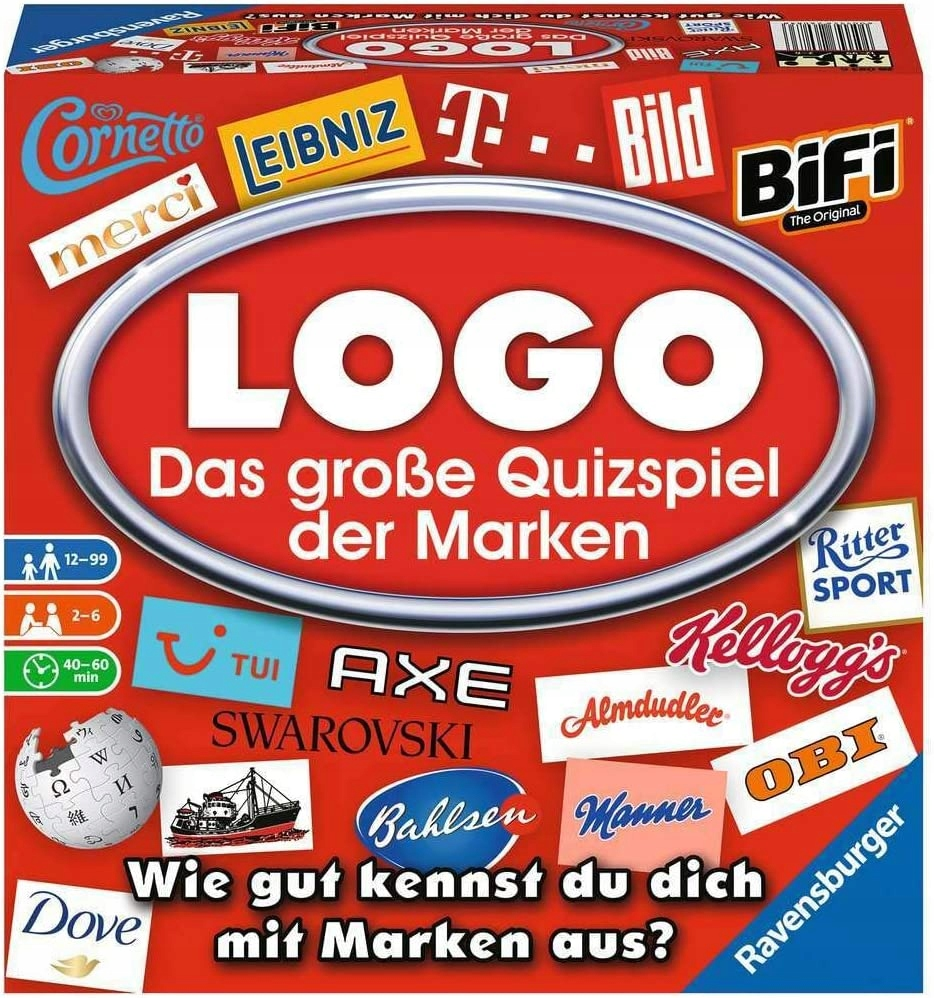 Ravensburger Logo 26083 GRA PLANSZOWA MARKOWA