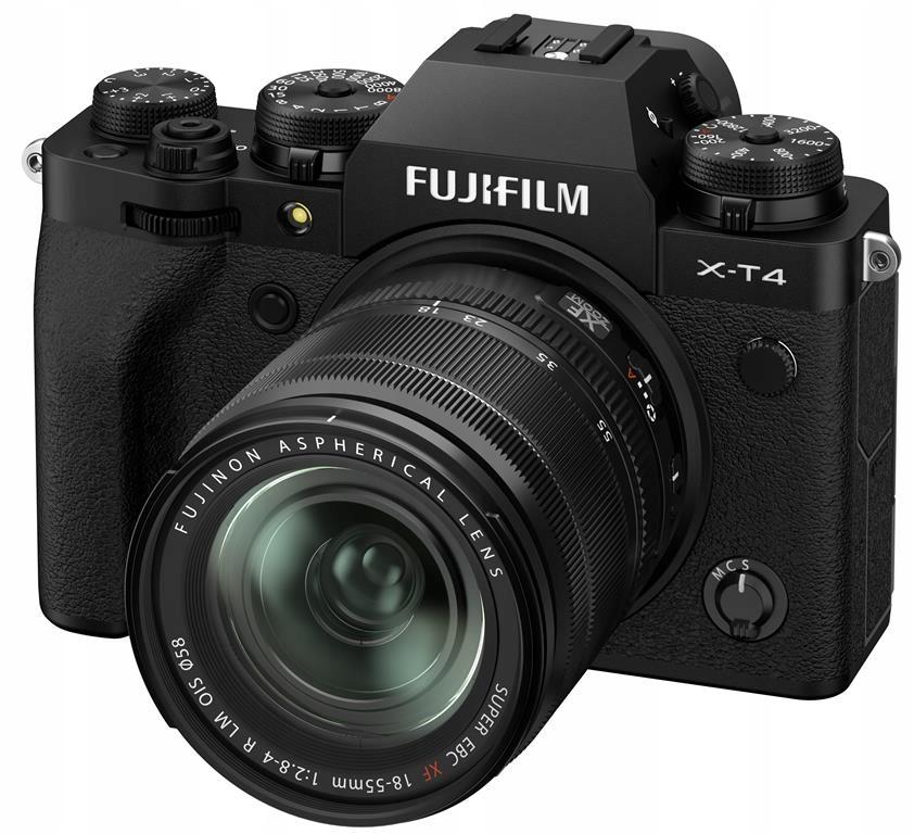 FujiFilm X-T4 + 18-55 mm f/2.8-4 R LM OIS Czarny