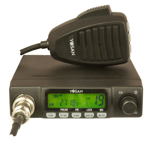 Mini Radio CB Yosan CB300 funkcyjny mikrofon