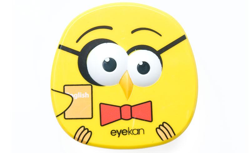 Pojemnik na soczewki Angry Birds - zestaw podróżny
