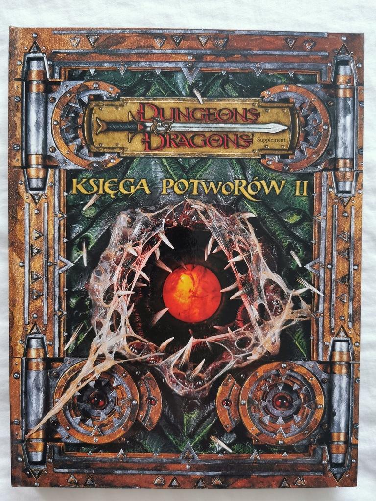 Dungeons Dragons - Księga Potworów II