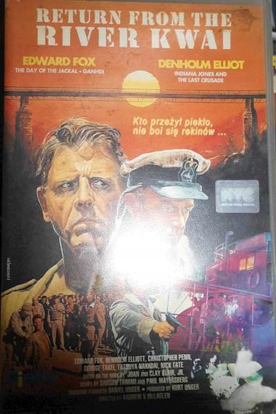 Powrót znad rzeki Kwai - VHS kaseta video