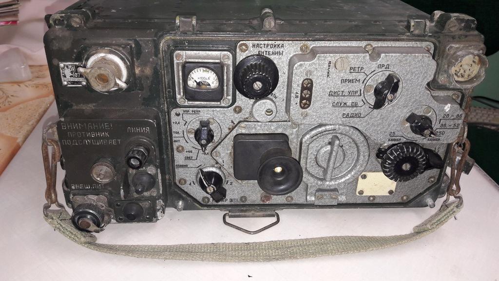 Radiostacja R-107 plus antena mikrotelefon
