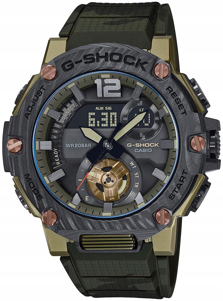 ZEGAREK ZIELONY CASIO GST-B300XB-1A3ER G-SHOCK
