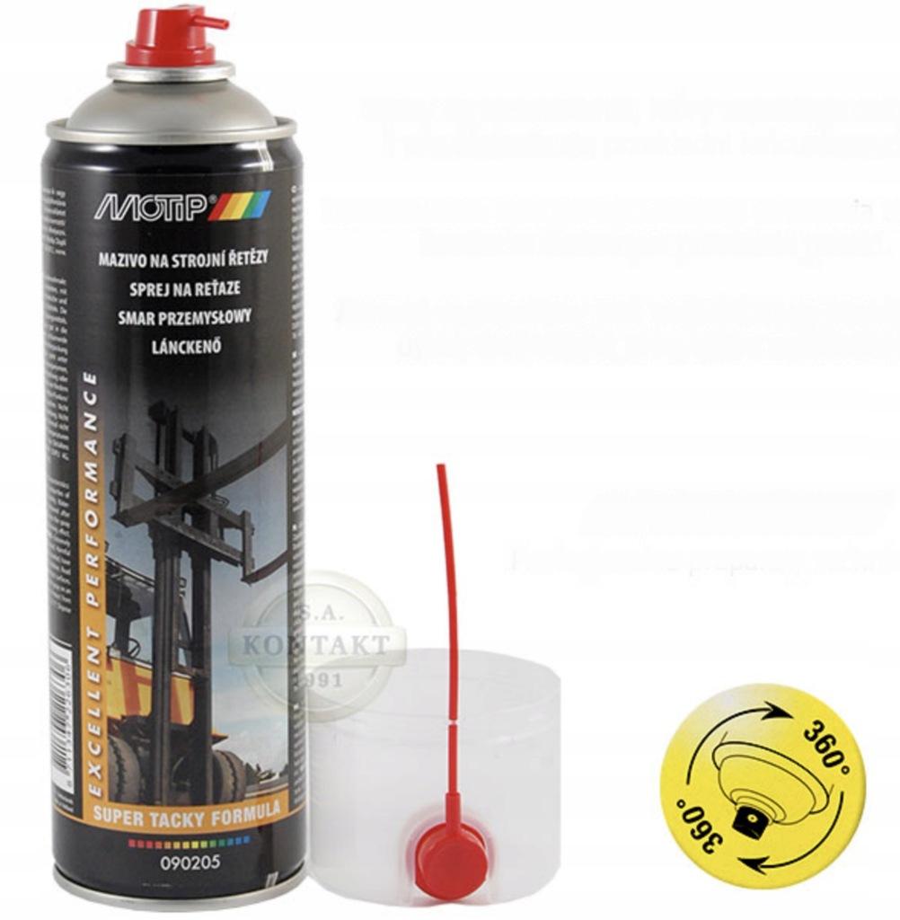 Smar przemysłowy w sprayu 500ml MOTIP 090205