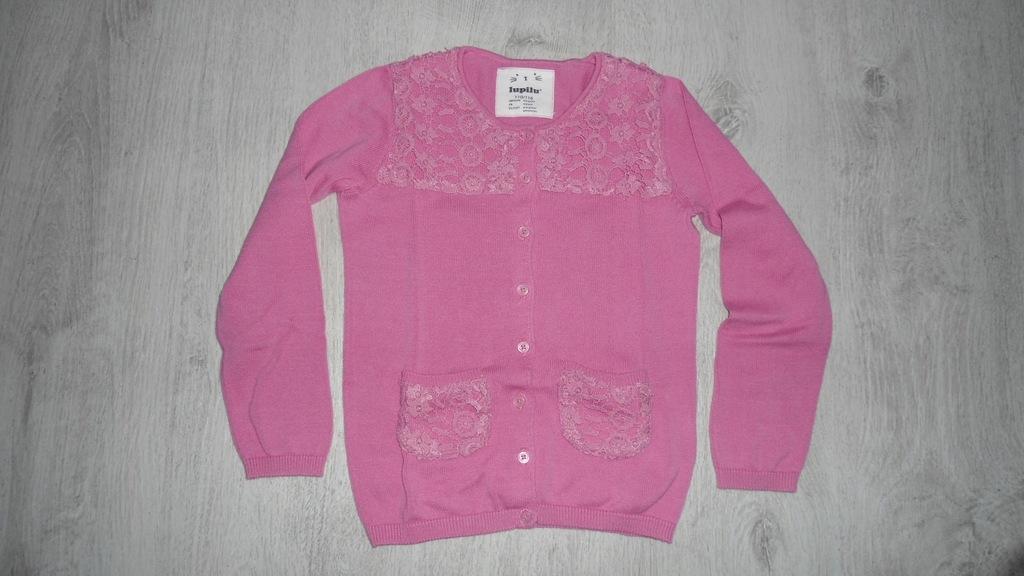 Rozpinany sweter Lupilu na 110 cm