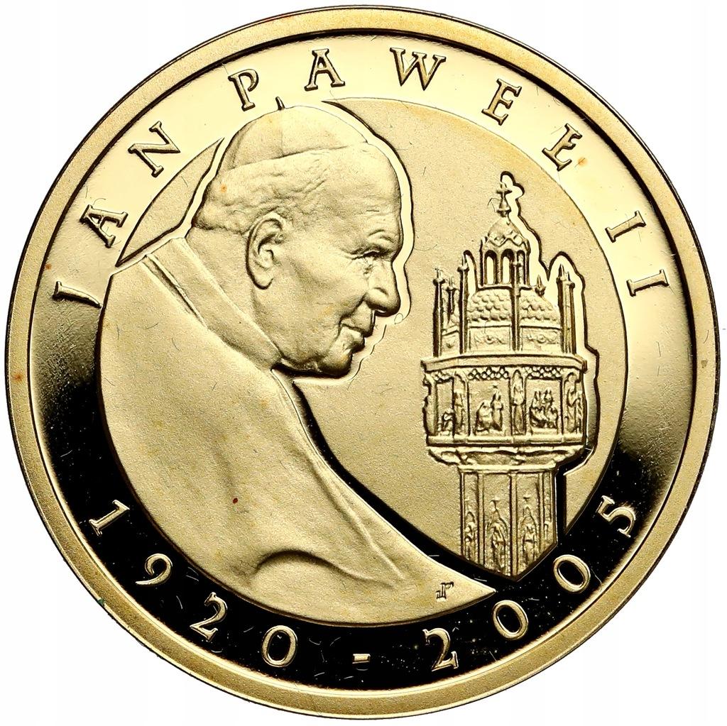 896. 100 zł 2005 Jan Paweł II - 8 g Au.900