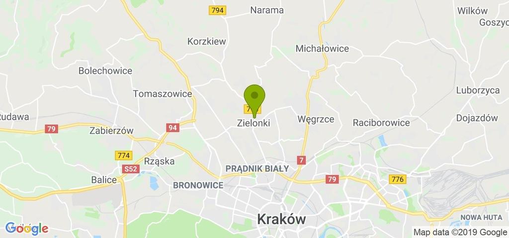 Dom Zielonki, krakowski, m²