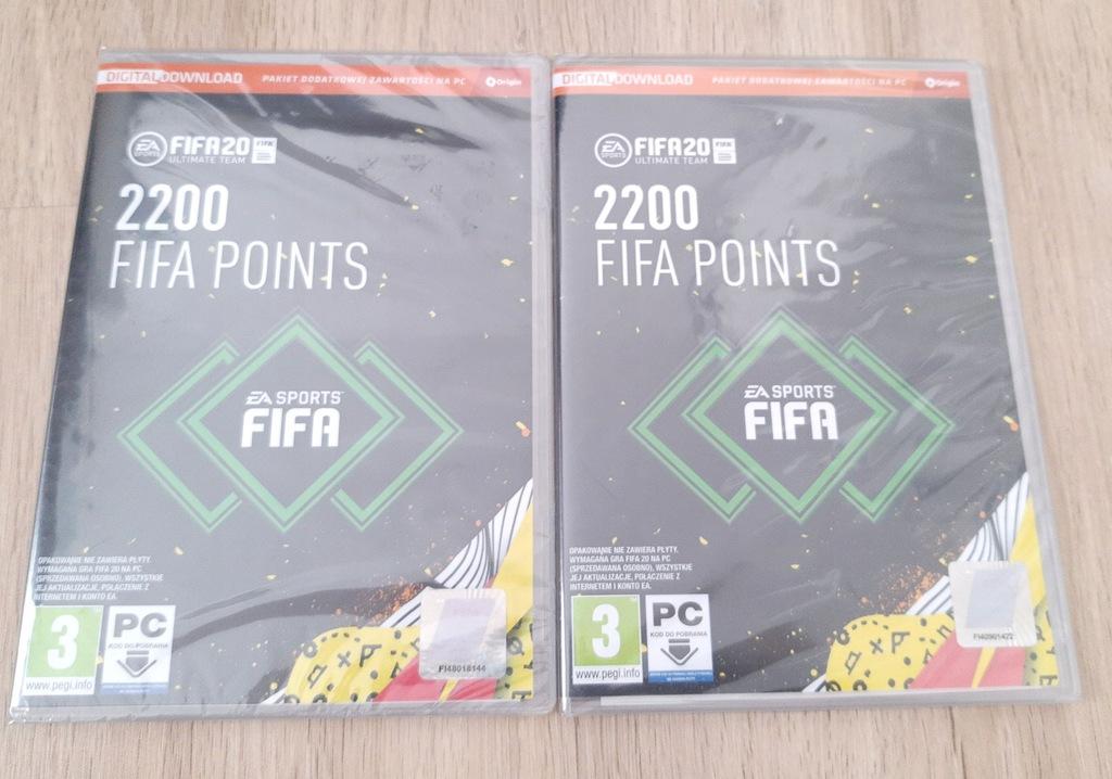 FIFA 20 2200 POINTS FUT PC TANIO