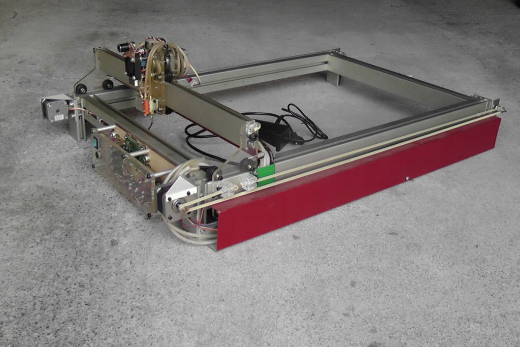Grawerka ploter laserowy CNC 60x40cm laser 6.5W