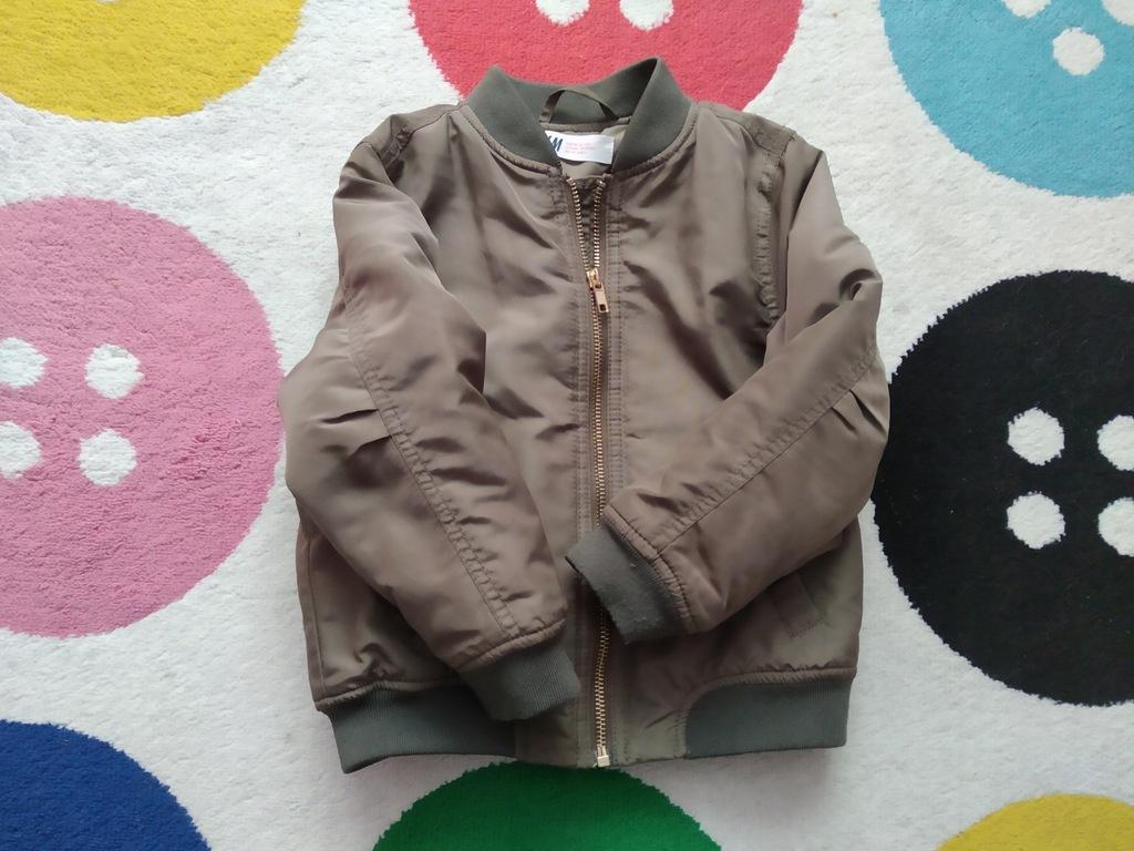 Kurtka Bomber HM 110 khaki płaszczyk gratis
