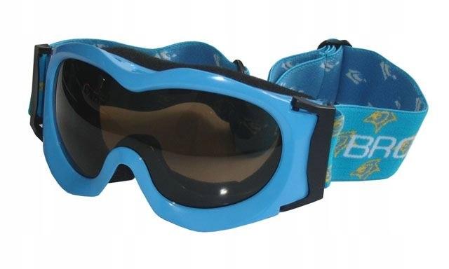 Gogle narciarskie BROTHER - niebieskie