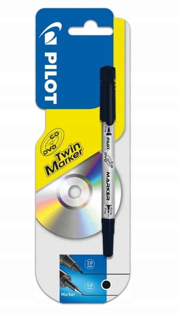 Marker CD/DVD czarny PILOT PILOT